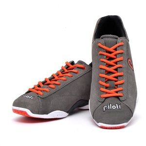 Piloti Prototipo Driving Shoes in Charcoal